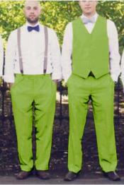 Apple Green Matching Waistcoat