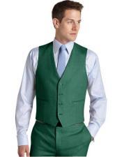 Suit Vest Augusta Green