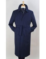 Length Wool Fabric Navy