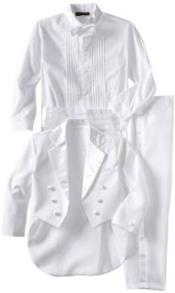Breasted White Womens Tuxedo
