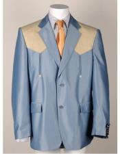 Notch Lapel Light Blue