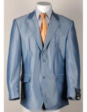 Western Light Blue Blazer
