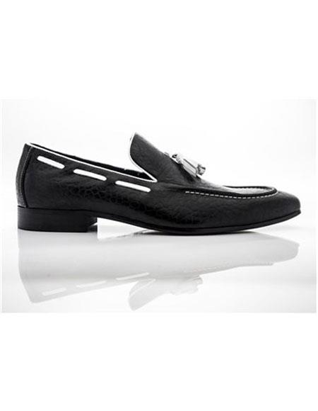 Shoe Slip On Black