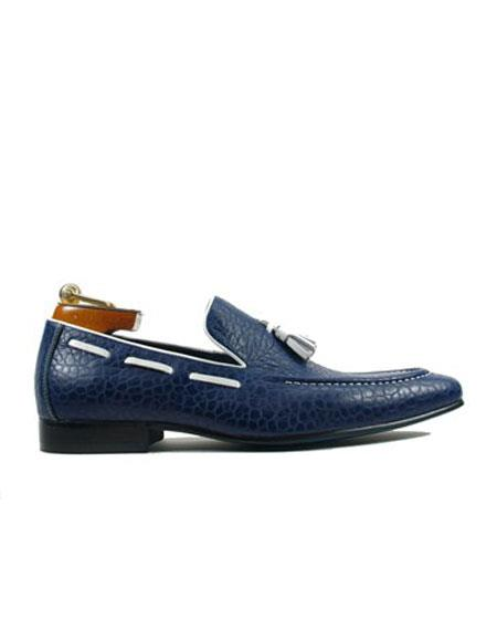 Shoe Slip On Blue