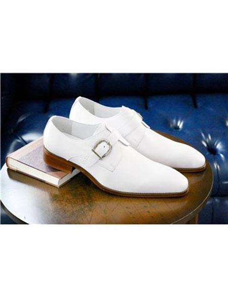 Slip On White Shoe