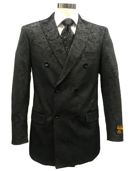 Texture Breasted Sport Coat