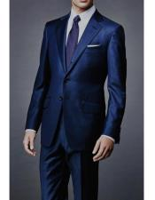 James Bond Navy Wool