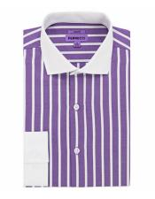 Collar Lavender Slim Fit
