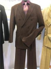Brown Notch Lapel Single