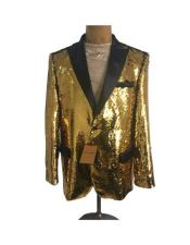 ID#AI26953 Mens  One Button Gold Affordable Cheap Priced Unique Fancy For Men Available Big Sizes on sale Suit