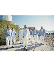 Beach Wedding Suit