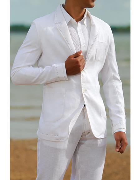 Beach Wedding White Patch