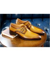 Tan mens Carrucci Shoe