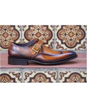 Slip On Cognac Mens