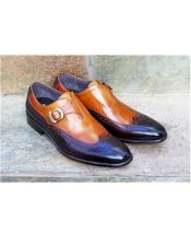 Brown Mens Carrucci Shoe