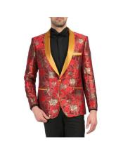 for Prom Mens Red