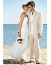 Beach Beige Wedding Attire