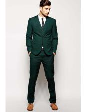 ID#AI27055 Mens Beach Green Wedding Attire Menswear Suit