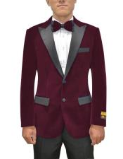 Two Button Maroon