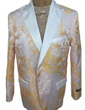 White and Gold Tuxedo