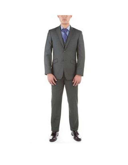 Grey Verno Stripe Pattern
