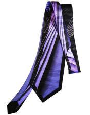 Purple Extra Long Silk
