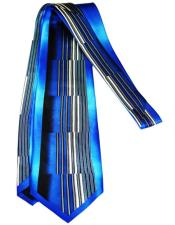 Blue Extra Long Silk