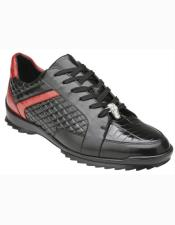 ID#SU27336 Mens Cap Toe Black Interior Leather Lining Lace Up Cheap Priced Exotic Skin Shoes For Sale For Men