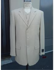 Wool Suit Three Buttons