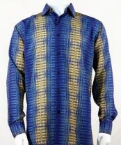 Long Sleeve Blue Fashion