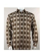 Brown Fashion Long Sleeve