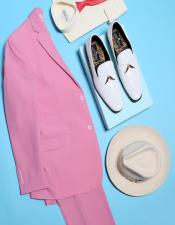 Notch Lapel Pink