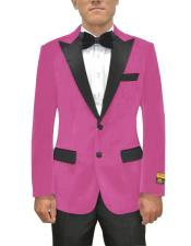 ID#SU27516 Mens Pink ~ Fuchsia Two Button Affordable Cheap Priced Unique Fancy For Men Available Big Sizes on sale Blazer