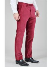 Burgundy Belt Loops Regular
