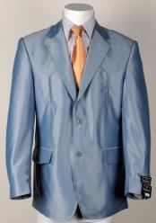 Western Cowboy Blue Suit