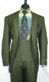Notch Lapel Vinci Olive