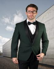 ID#SU28015 Mens Hunter 1 Button Two Toned Tuxedo Shawl Collar Affordable Cheap Priced Unique Fancy For Men Available Big Sizes on sale Dinner Jacket Blazer