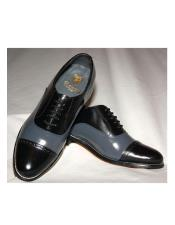 Black And Grey Patent