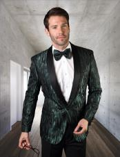 Green Tuxedo Dinner Jacket
