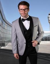 Suit With Black Vest