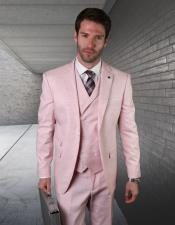 Pink Notch Lapel