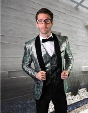 Velvet Statement Clothing Suit