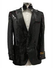 Two Button Black Tuxedo