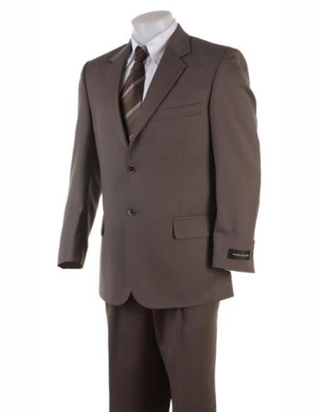 Suits Clearance Sale Brown