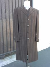 Brown Maxi Zoot Suit
