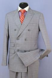 Suit Grey 6 Button