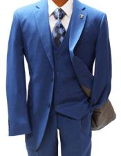 Blue Suit Two Button