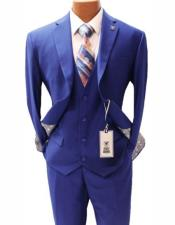 Vested Notch Lapel Suit