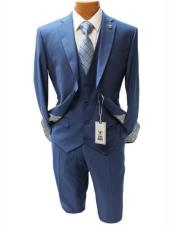 men's Two Button Suit