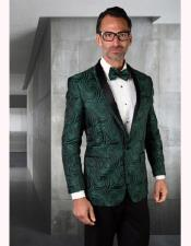 ID#AA28407 Mens Paisley Affordable Cheap Priced Unique Fancy For Men Available Big Sizes on sale Olive Green Tuxedo And Bow Tie
